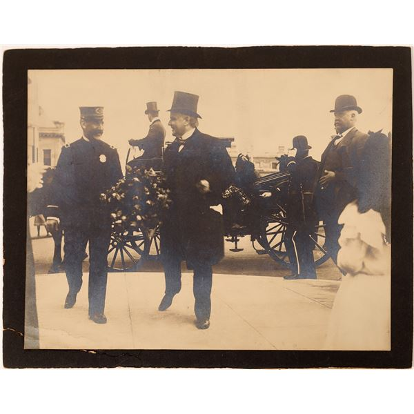 Photograph of President McKinley in San Francisco  [135936]