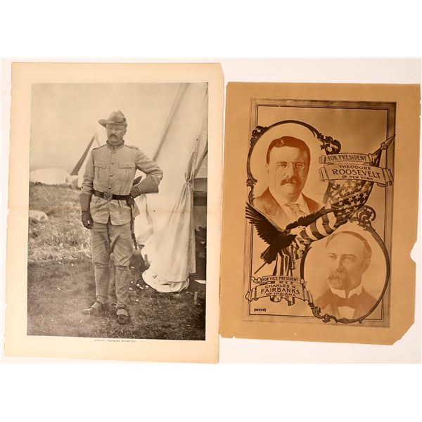 Original Photograph Posters of Theodore Roosevelt  [136907]