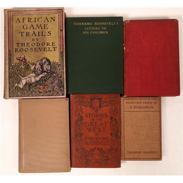 Literary Works of Theodore Roosevelt (6)  [136780]