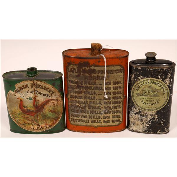 Gunpowder Flask Collection (3)  [137433]