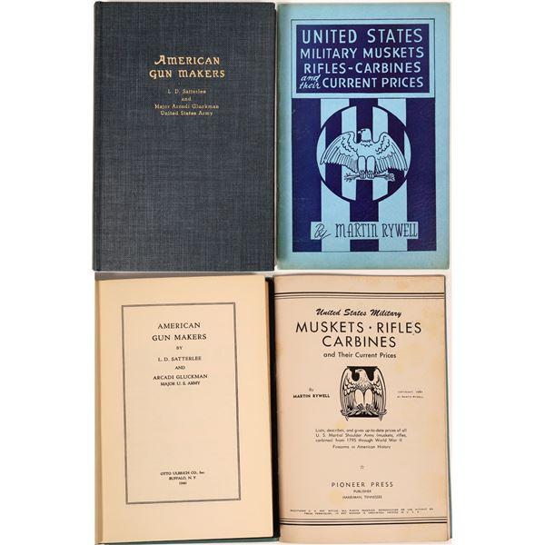 American Gun Makers by Satlerlee and Gluckman Plus Bonus [136130]