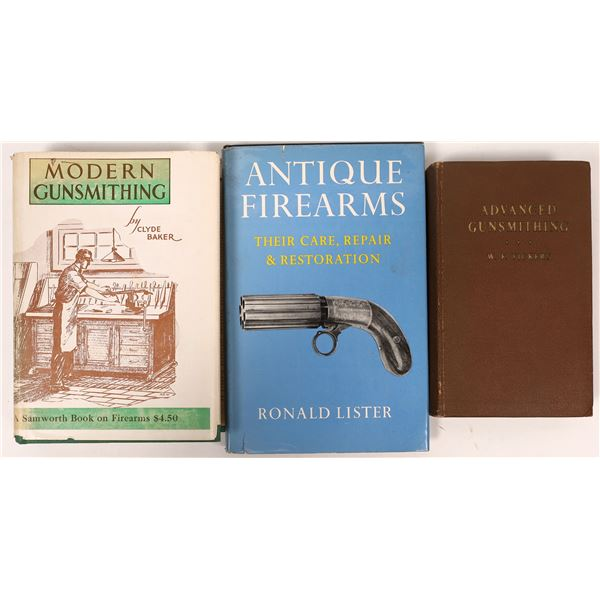 Antique Firearms Repairs and Gunsmithing Books  [136145]
