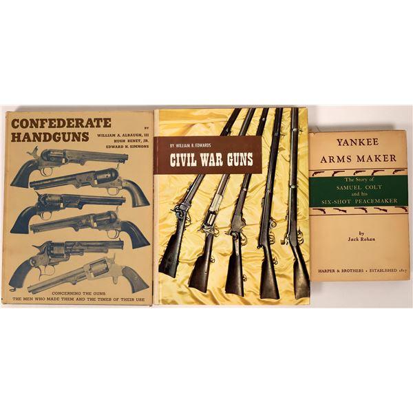 Civil War Guns in three books  [136139]
