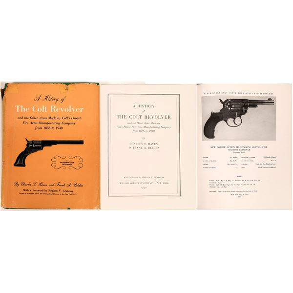 A History of the Colt Revolver by Charles Haven and Frank Belden first edition  [135645]