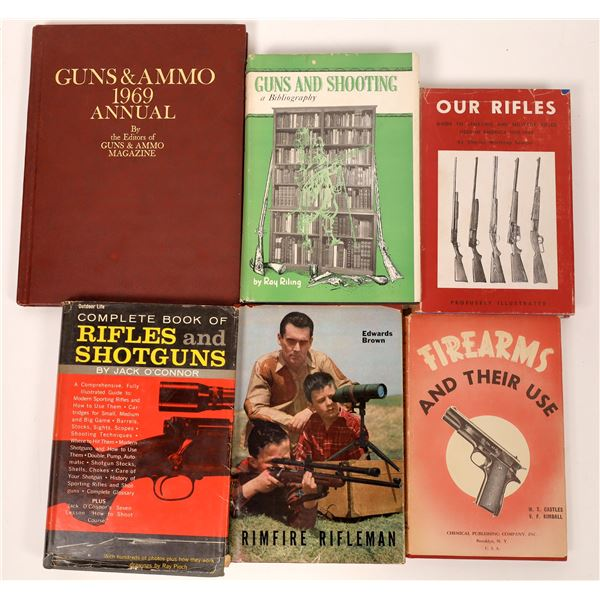 Complete Book of Rifles and Shotguns by Jack O'Connor and other works  [137526]