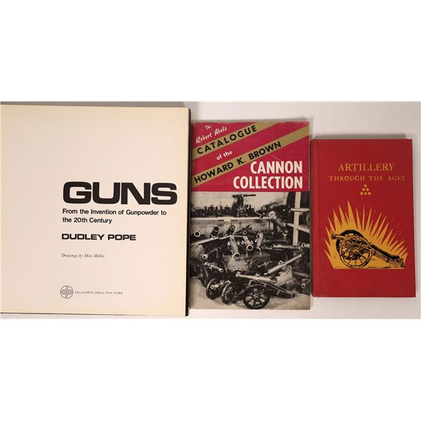 Guns from the Invention of Gunpowder to the 20th Century by Dudley Pope  [137522]