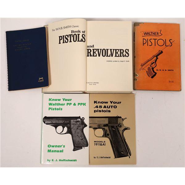Pistols and Revolvers in Five Books  [136146]