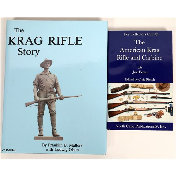 The Krag Rifle Story by Mallory and Olson Plus Other Krag  [136129]