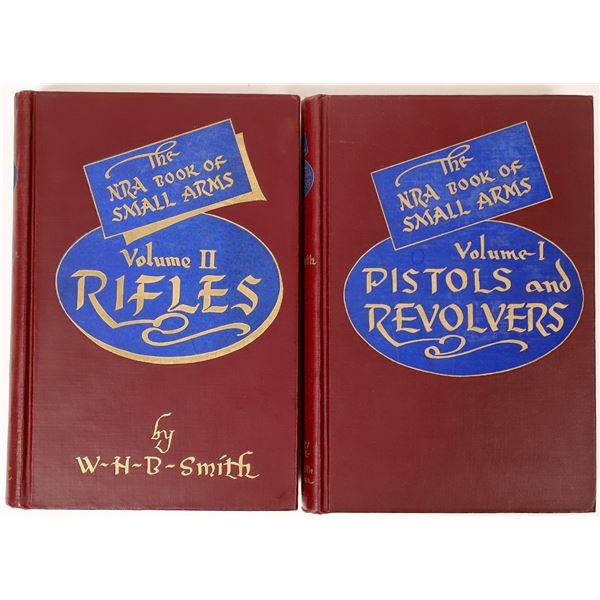 The NRA Book of Small Arms vol. 1-2 by Smith  [135651]