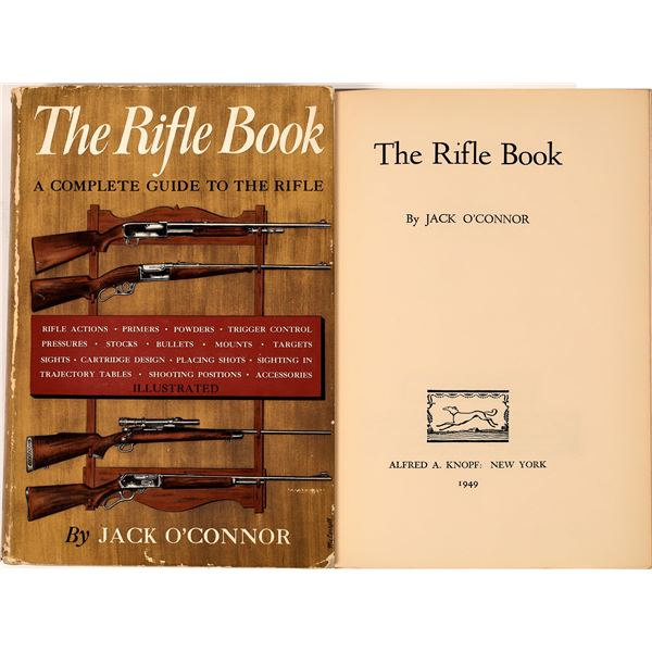 The Rifle Book by Jack O'Connor 1949  [136141]