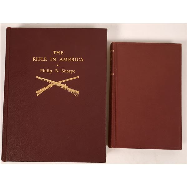 The Rifle in America by Philip Sharpe and Deane's Manual of Firearms  [137521]