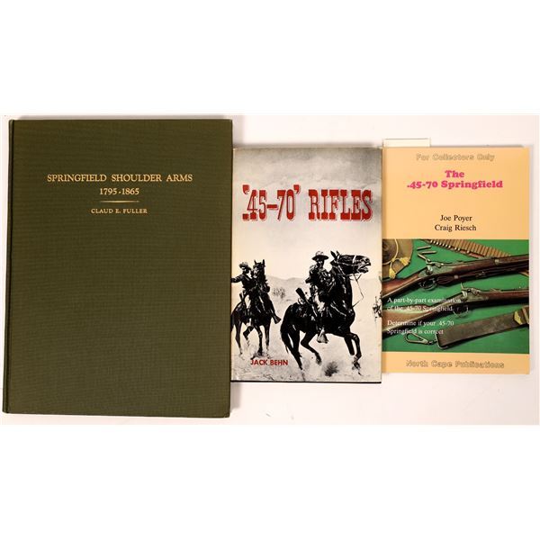 The Springfield Rifle in three books  [136136]