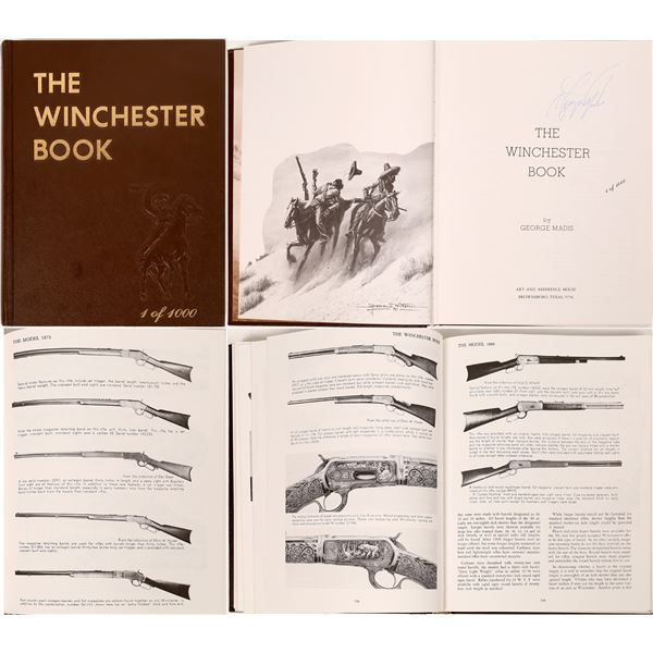 The Winchester Book by George Madis  [137515]