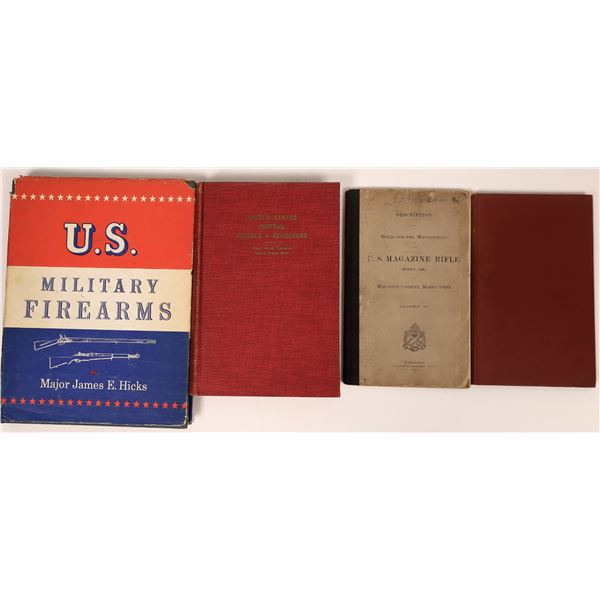 U.S. Military and Martial Firearms in books  [137517]