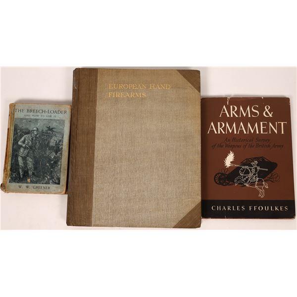 European Hand Firearms by H. J. Jackson London Plus Others  [137520]