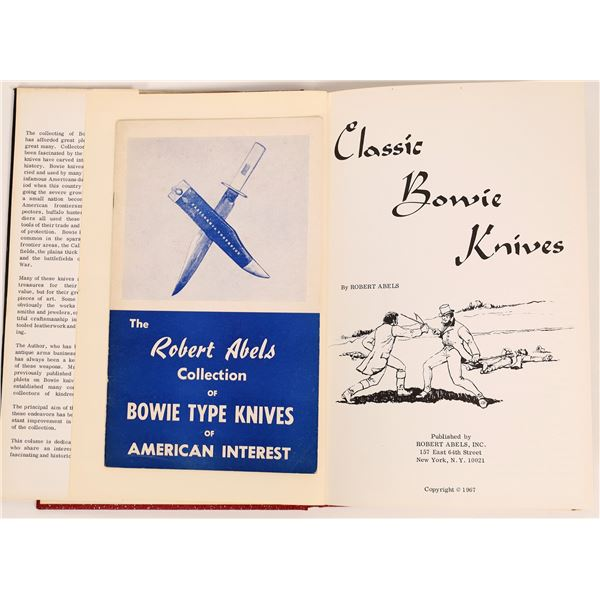 Classic Bowies Knives by Robert Abels and his Bowie Collection   [135659]