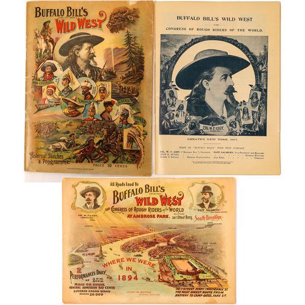 Buffalo Bill's Wild West Show Program  [137575]