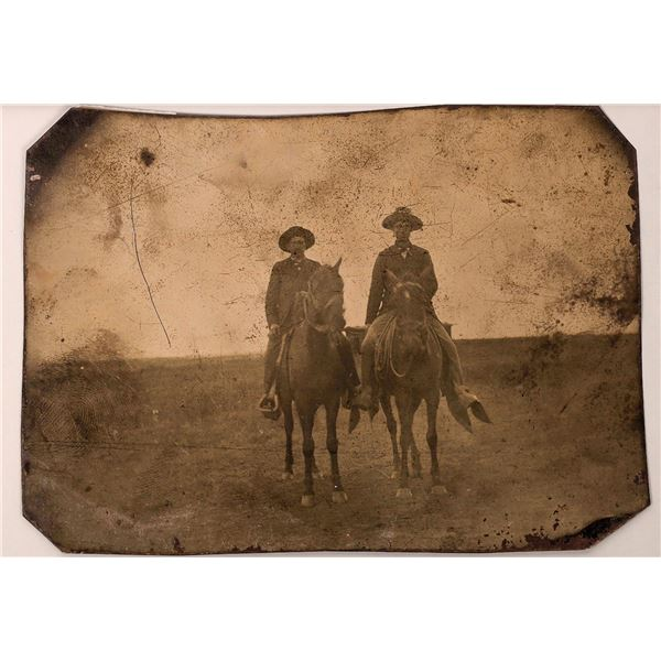 Mexican Cowboys 1/4 Plate Tin Type  [135764]