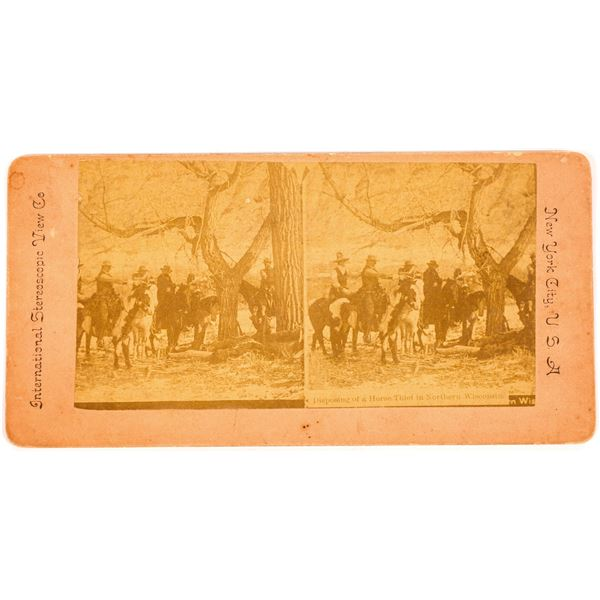 Stereoview of Horse Thief Execution  [134166]