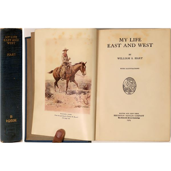 """""""My Life East and West,"""" by William S. Hart  [136847]"""