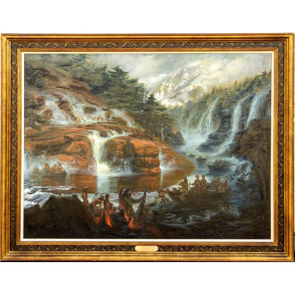 """""""Lewis and Clark"""" by William Douglas Rosa  [136949]"""