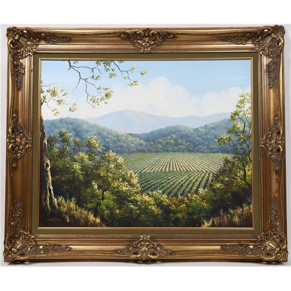 Napa Valley Oil Painting by Lynne Oaks  [133767]