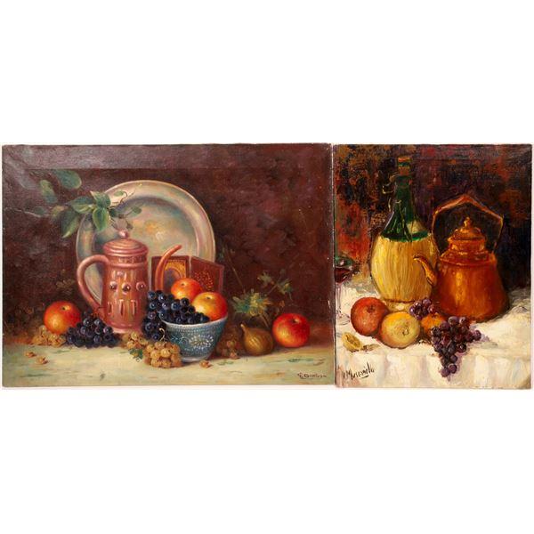 19th Century Still Life Duo  [124992]