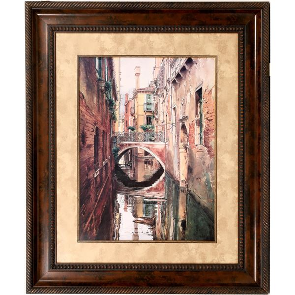 Venice Canals Large Prints in Fancy Frames (2)  [136612]