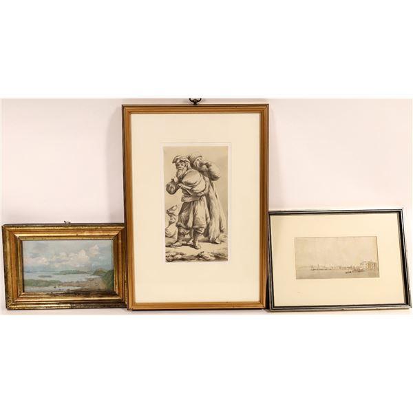Original Artworks from the Ben-Tchavtchavadze Collection  [136618]