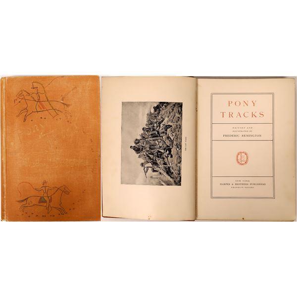 Pony Tracks by Frederic Remington  [136817]