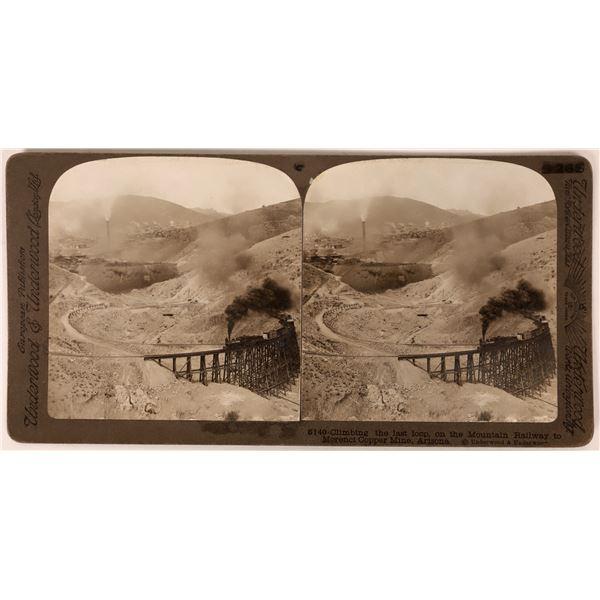 Morenci Copper Mine Stereoview  [135815]