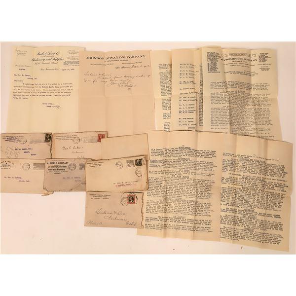 Mining Correspondence Group, c1900  [137654]