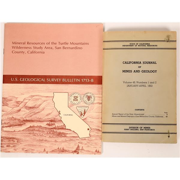 Mining Reports for San Bernardino Co., California (2)  [137462]