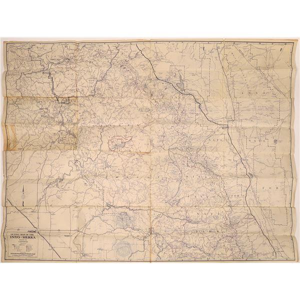 California Central Sierra Region Outing Maps (2)  [137615]