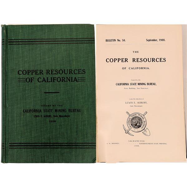 Copper Resources of California  [133828]