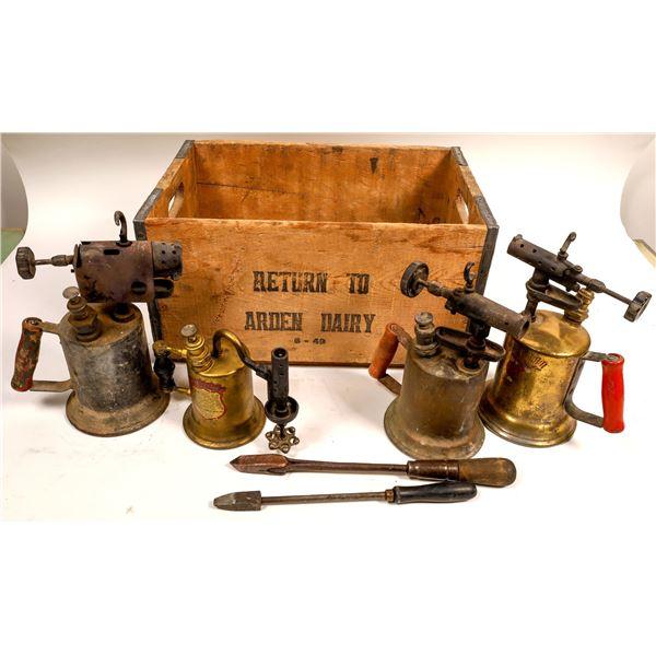 Ruth Mine Welding Tools c1920s  [136710]