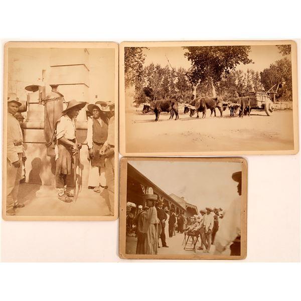 WH Jackson Photos of Mexico incl. Copper Mining  [134205]