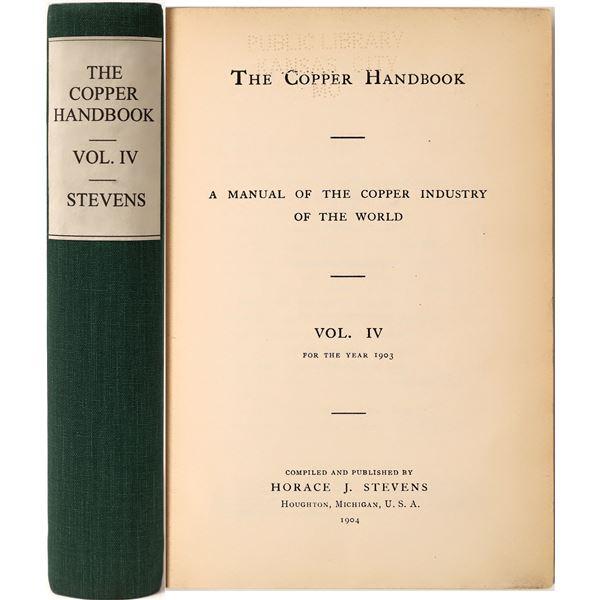 The Copper Handbook Volume IV  [136859]