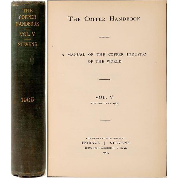 Copper Handbook Volume V  [136863]