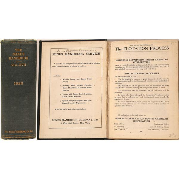 The 1926 Mines Handbook  [136878]