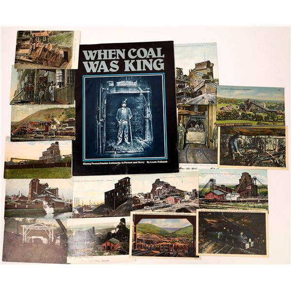 When Coal was King by Poliniak and Mining Postcards  [137612]