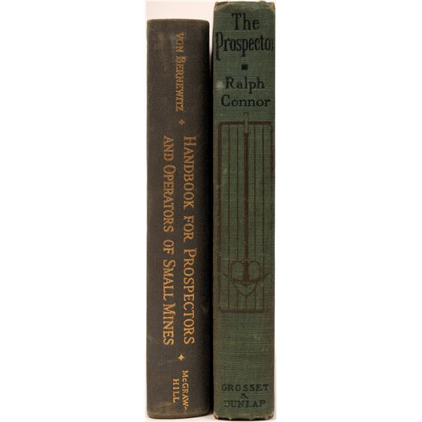 Prospecting Mining Books  [136851]