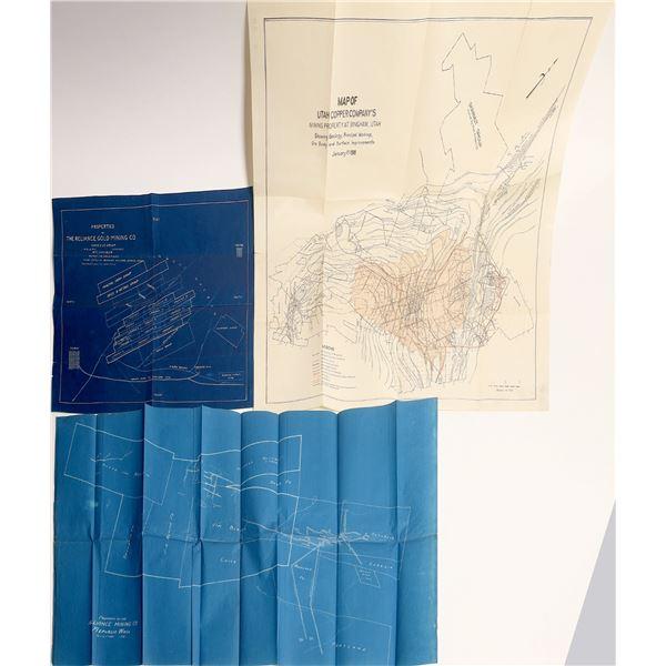 U.S. Mining Co's Property Maps (3)  [137611]