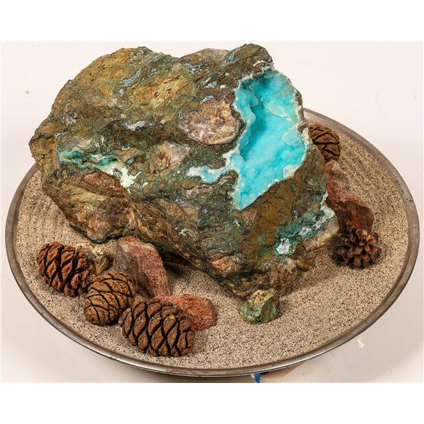 Drusy Chrysocolla - 24 Pound Chunk  [137095]