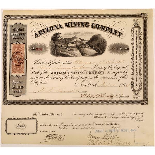 Arizona Mining Company Stock  [135796]
