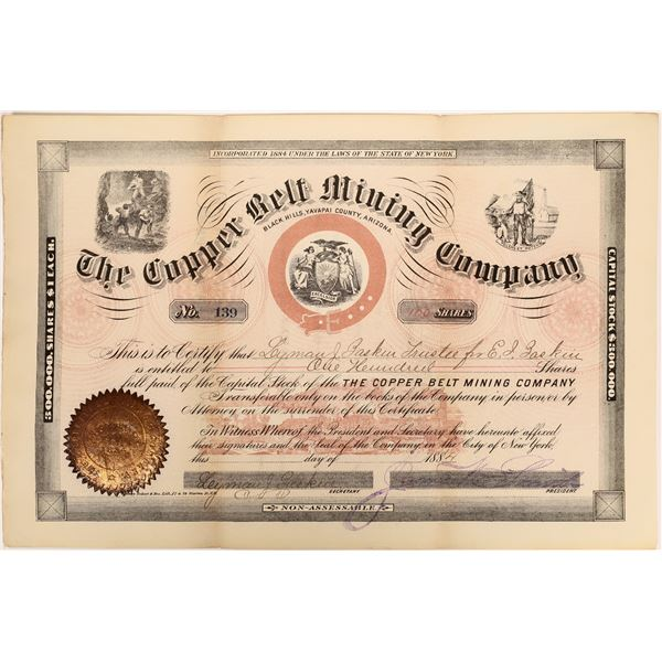 The Copper Belt Mining Company Stock  [135794]
