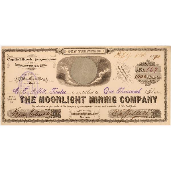Moonlight Mining Company Stock  [135802]