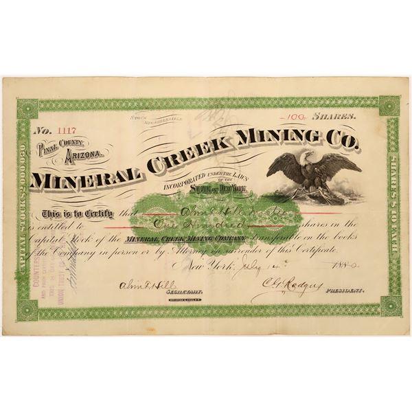 Mineral Creek Mining Co. Stock  [135806]