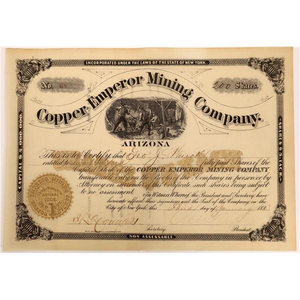 Copper Emperor Mining Company Stock [135793]