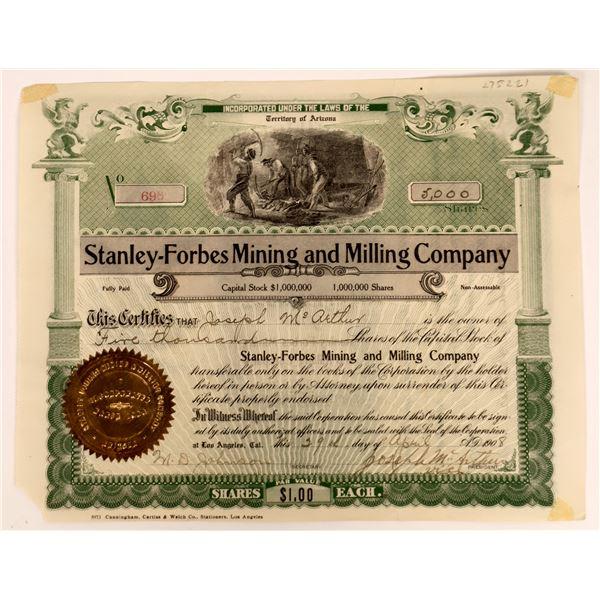 Rare A.T. Mining Stock Certificate  [136890]